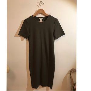 H&M Army Green Basic Dress